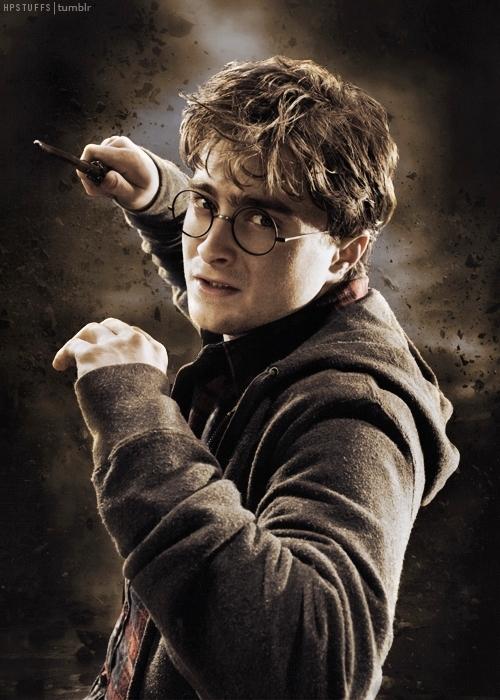 hogwarts alumni golden trio wand