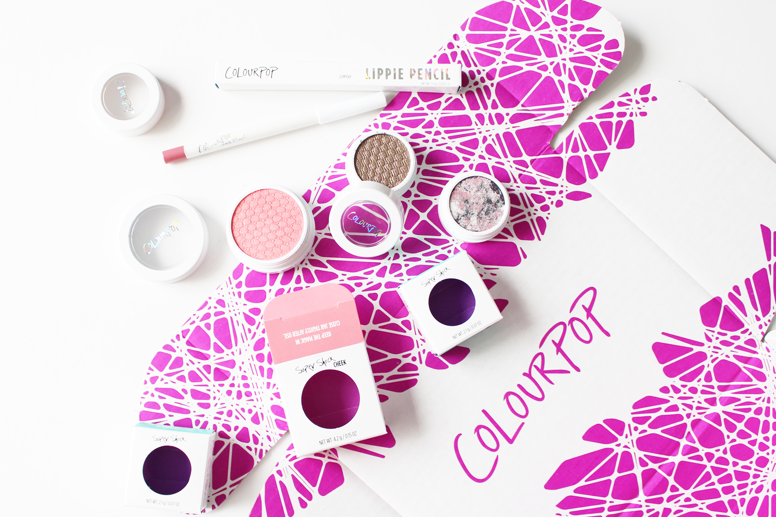 COLOURPOP | Haul + First Impressions - Super Shock Cheeks, Shadows + Lippie Pencil - CassandraMyee