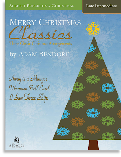 Late Elementary Christmas Piano Music by Adam Bendorf