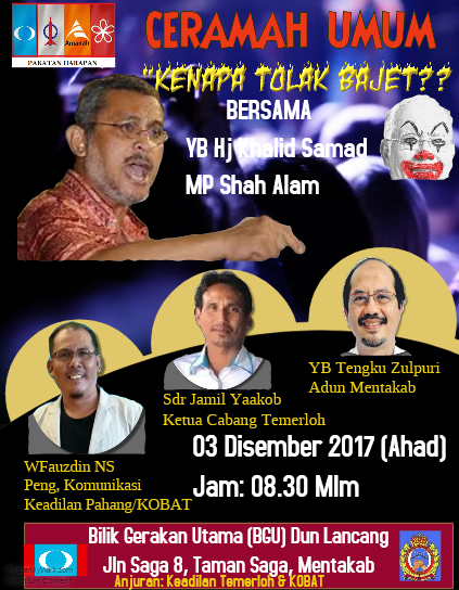 CERAMAH DI MENTAKAB
