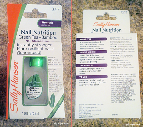Sally Hansen Nail Nutrition Nail Strengthener Nail Care Sally Hansen 39 s