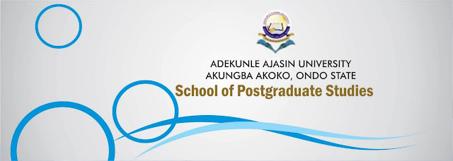 AAUA Postgraduate Admission Application Form