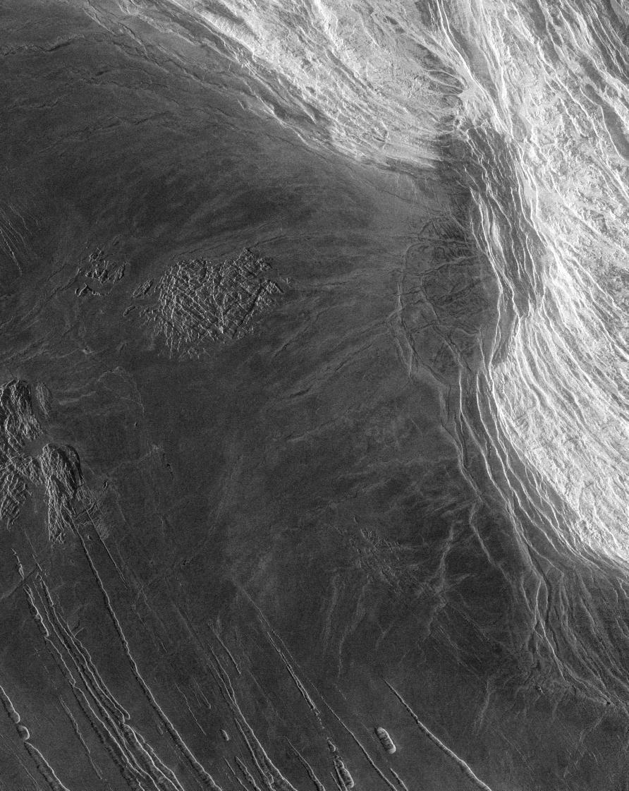 Mountain Planet Venus Maxwell Montes