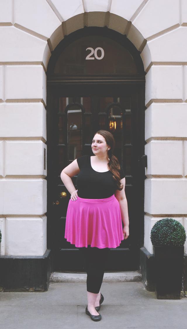 Pink Skirt OOTD