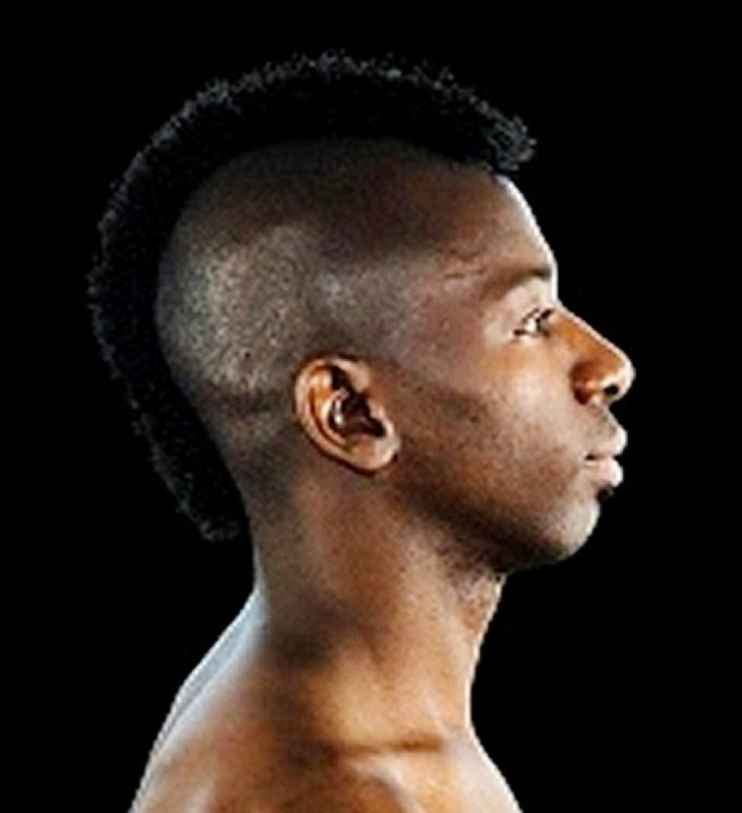 Ideal Short Mohawks Haircuts for Black Men