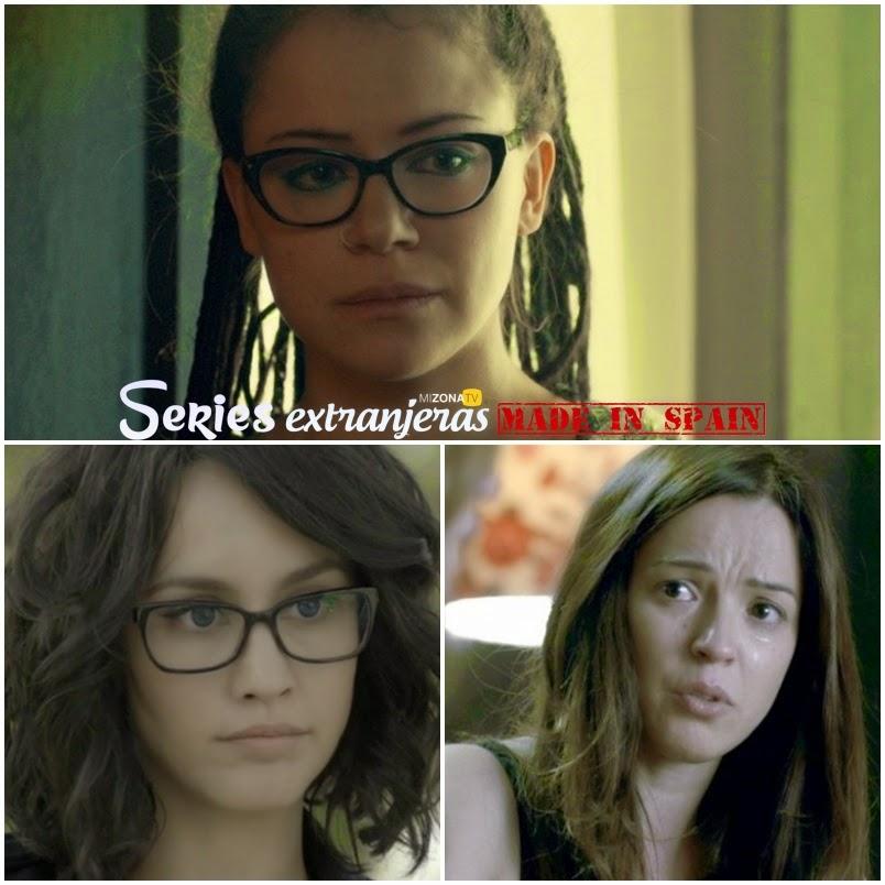 Tatiana Maslany, Megan Montaner y Verónica Sánchez
