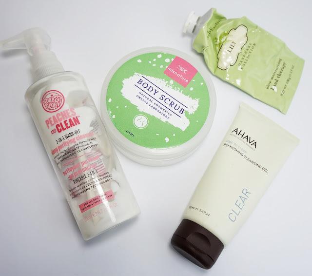 Aufgebrauchte Kosmetik - November 2015 AHAVA, Mixnature, Soap & Glory