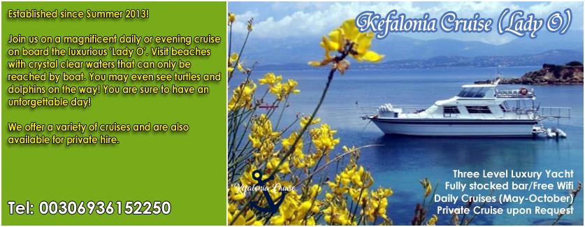 Kefalonia Cruise - Lady O
