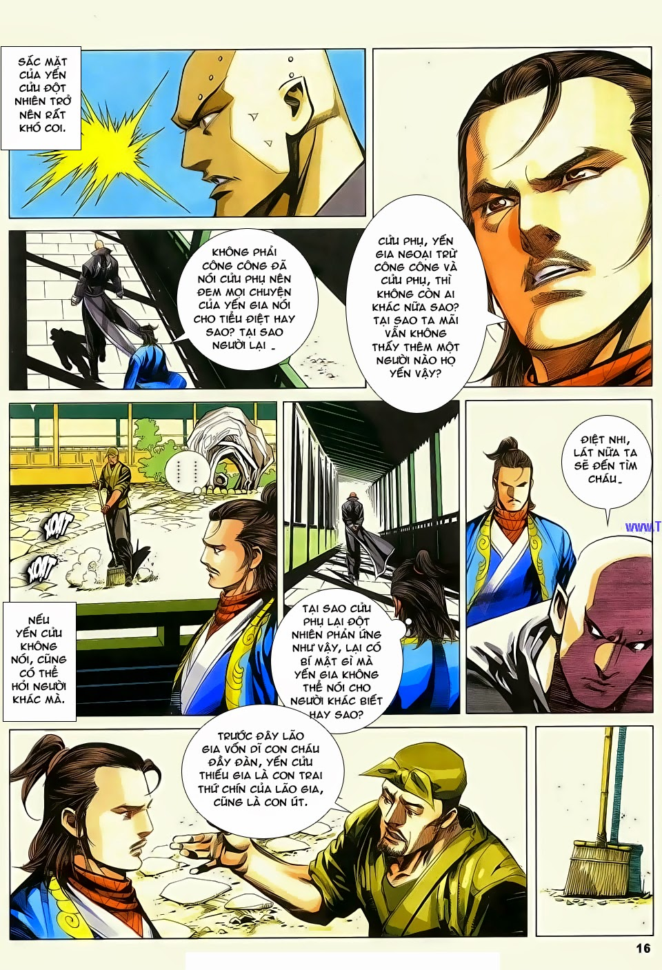 Cổ Long Quần Hiệp Truyện chap 84 Trang 16 - Mangak.info