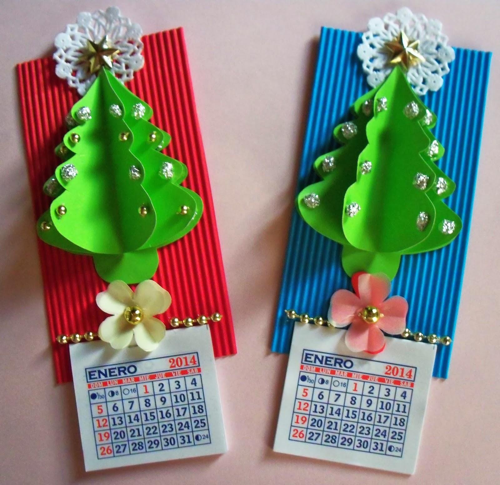 La catequesis el blog de sandra manualidades de navidad - Tarjetas de navidad manuales ...