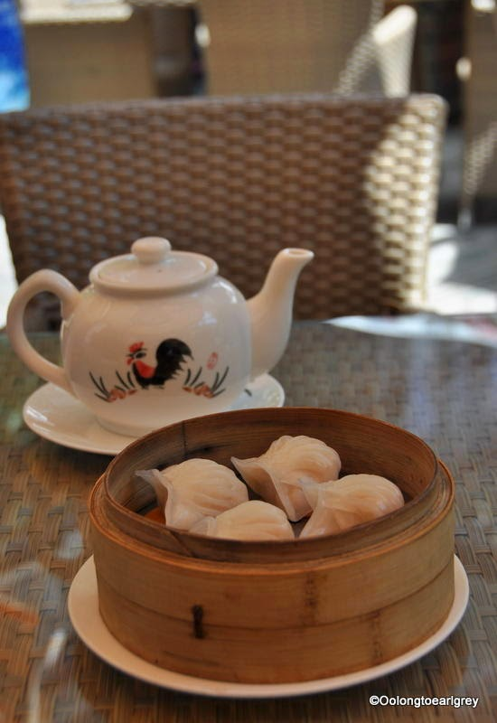 Tea and dumplings, Shanghai