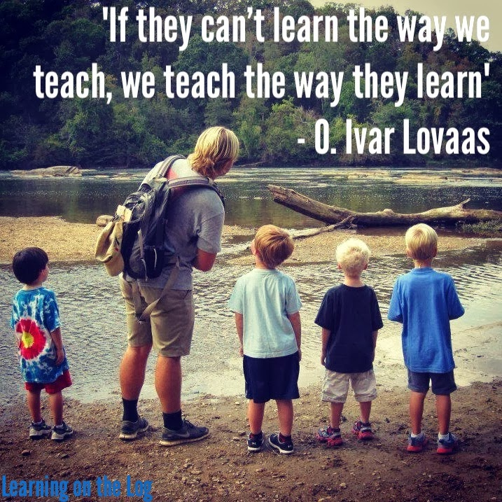 If they can't learn the way we teach...