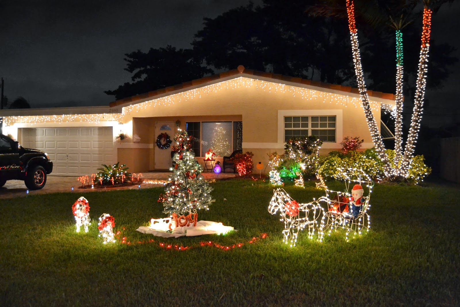 Hey Florida!: Decoração de Natal pela vizinhança!