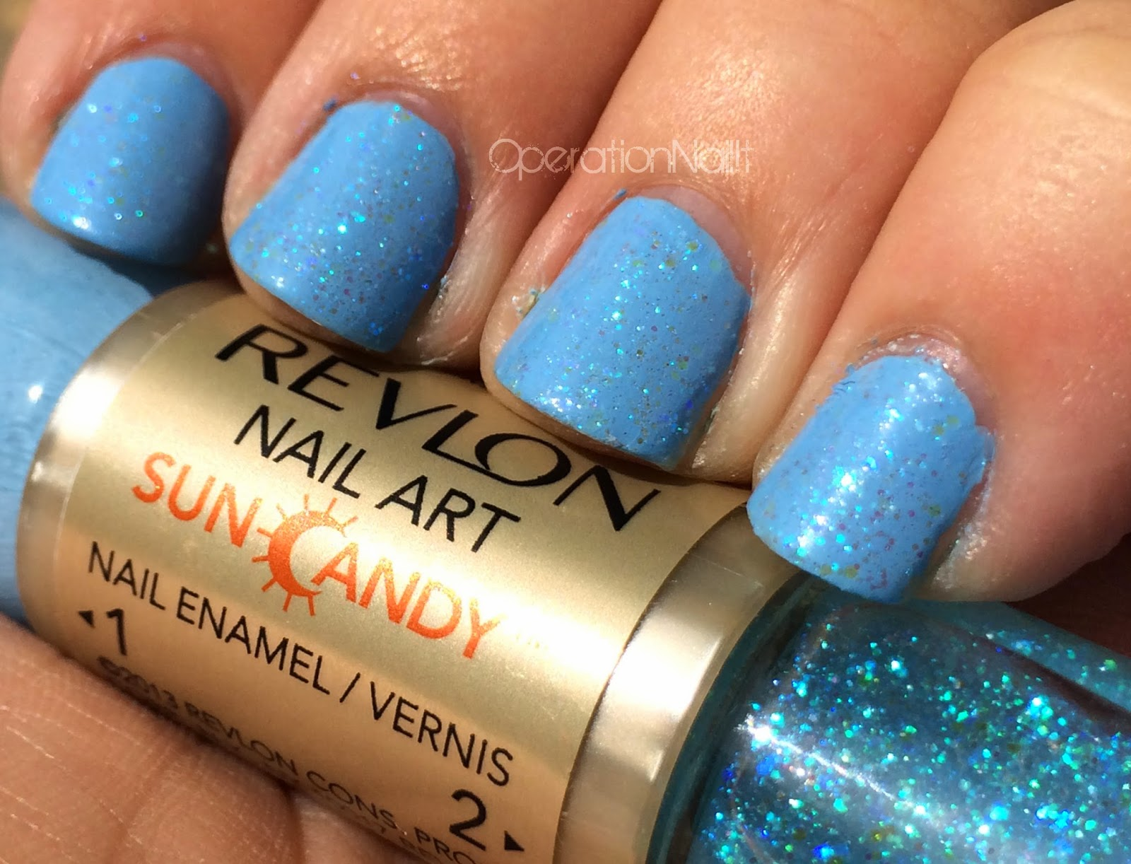 Operation Nail It Revlon Sun Candy Swatches Review