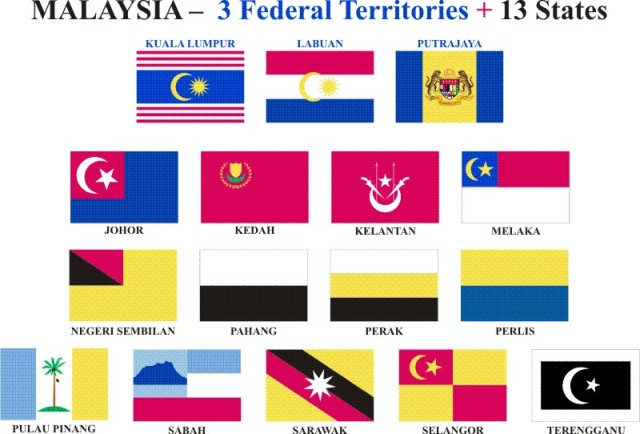 The Mighty Cheetah Malaysia States Flag