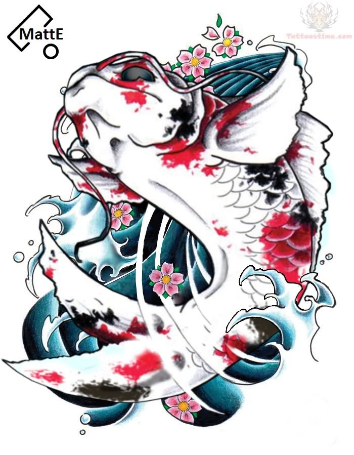 Japanese tattoos free japanese tattoos designs for Japanese koi