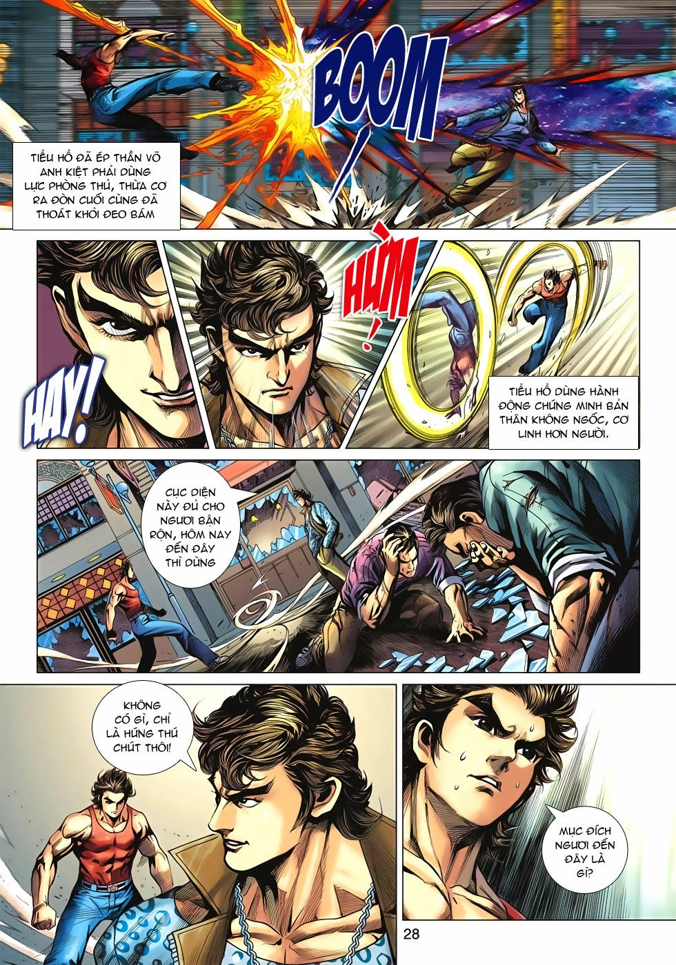 Tân Tác Long Hổ Môn trang 28