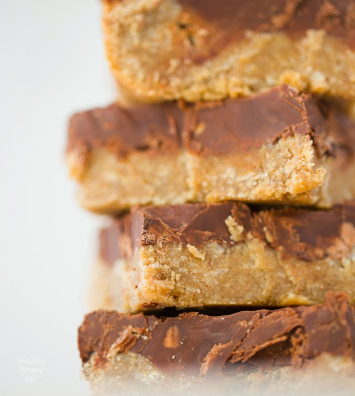 or sweet treat, these nutty peanut butter bars loaded with chocolate ...
