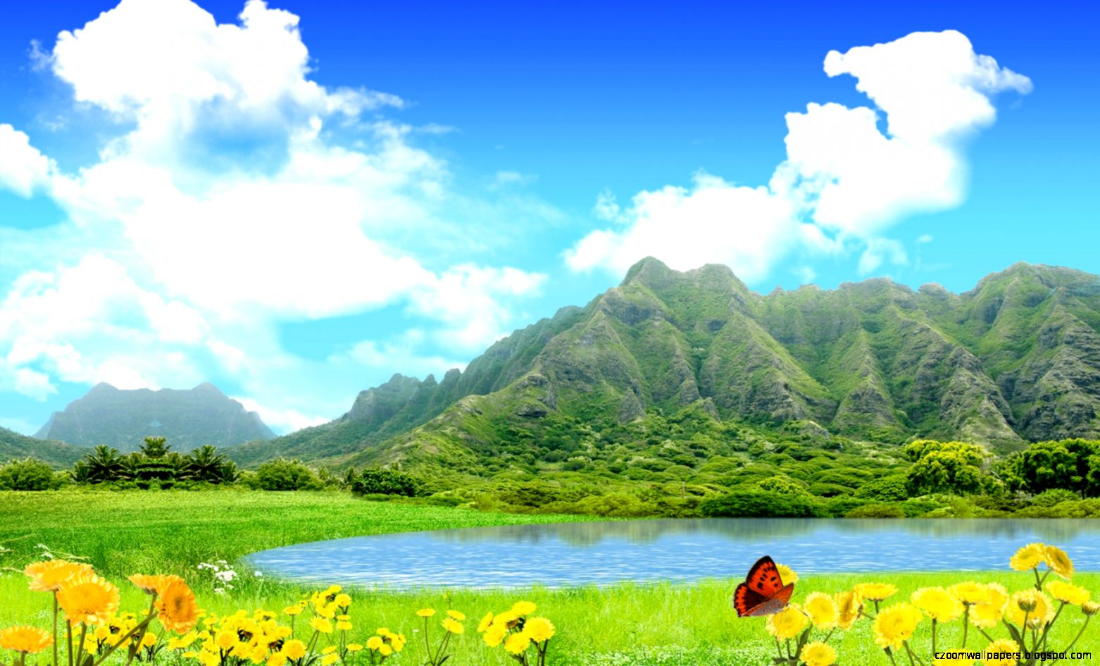 Nature wallpaper for windows 7 zoom wallpapers - Nature wallpaper free download windows 7 ...