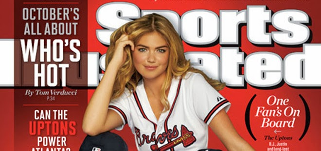When was Kate Upton on the cover of Sports Illustrated?