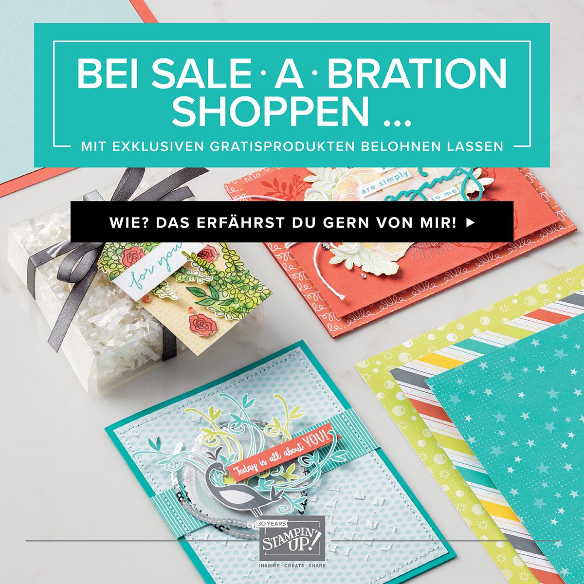Sale-A-Bration Broschüre mit Gratis Artikeln