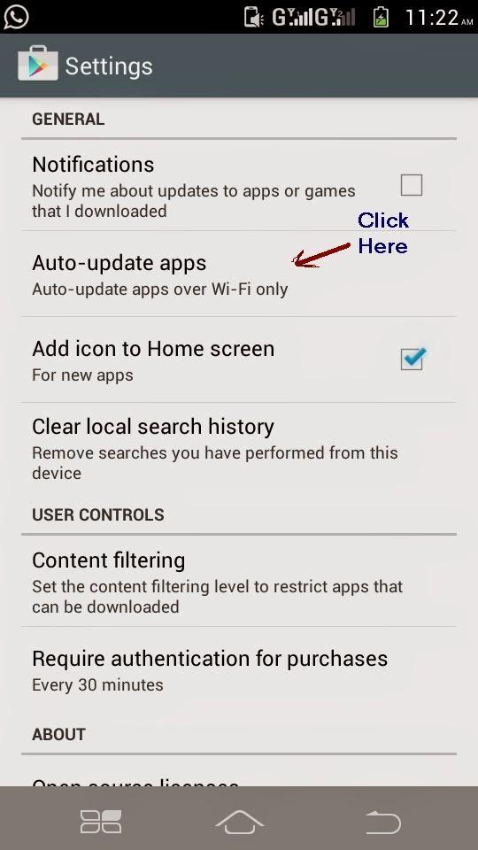 जानिए Android App को auto update होने से रोकने का तरीका