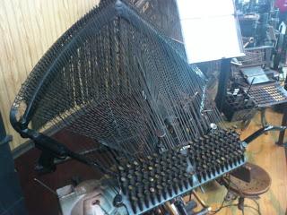自動鋳植機のキーボード