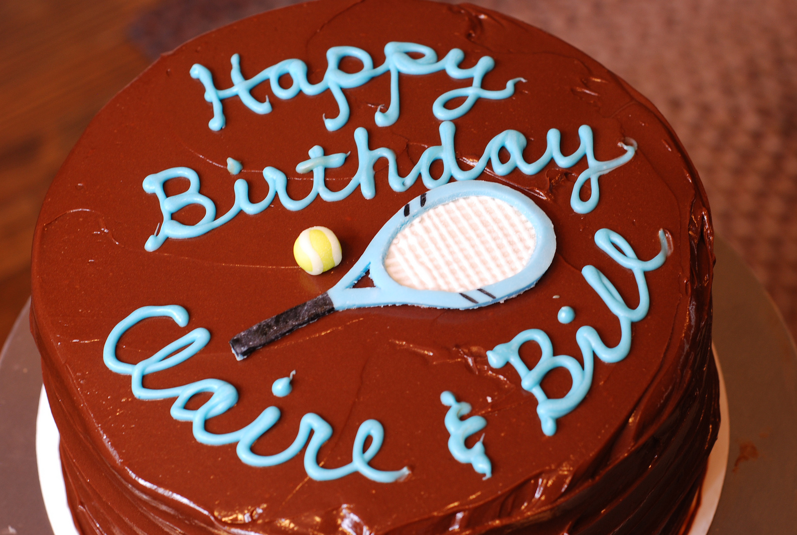 Marzipan A Tennis Cake And A Shortcut Using Candy Melts For Writing