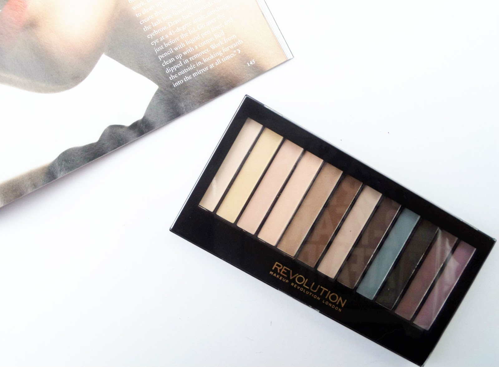 The Makeup Revolution Essential Mattes Palette Review