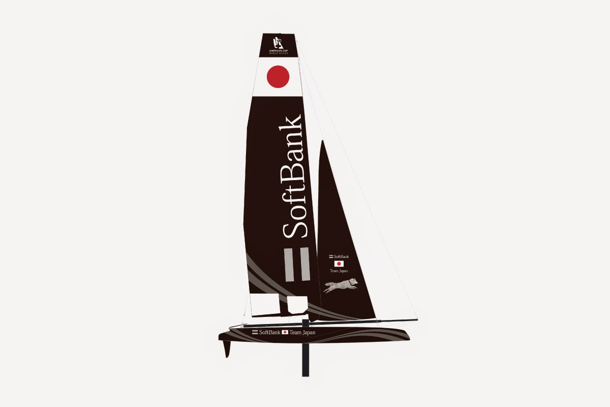 Soft Bank, Team japonais, arrive sur l'America's Cup !