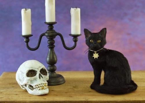 kerri pajutee spooky cat