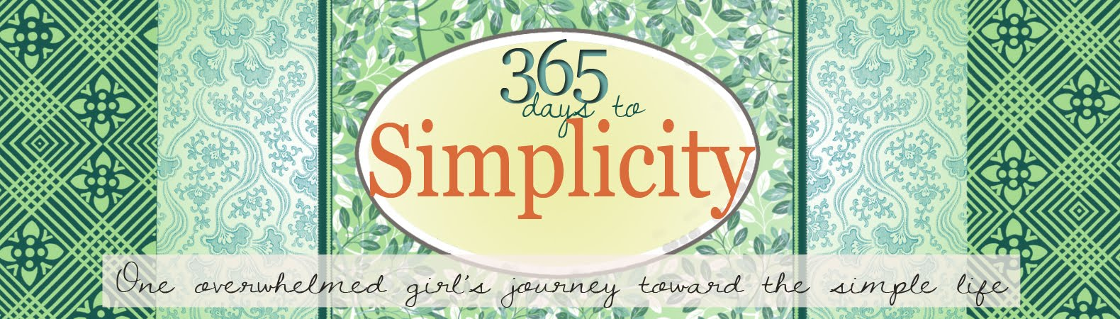 365 Days to Simplicity