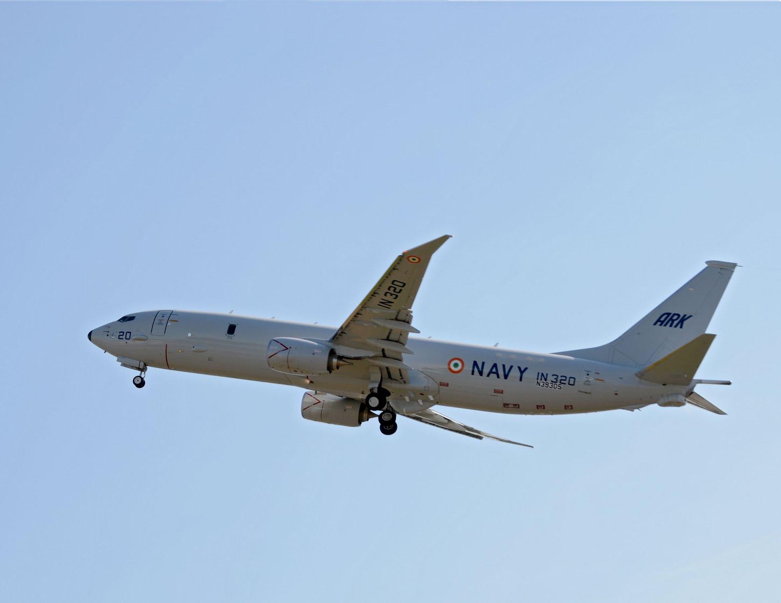 83178ebf0f6b Boeing P-8I For India Begins Flight Test Program