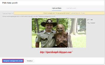 memotong foto agar sesuai dengan tampilan gmail