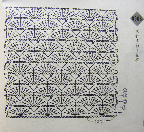 Crochet scarf pattern diagram dancox for hooked on stitches on pinterest tunisian crochet crochet scarf pattern diagram ccuart Choice Image