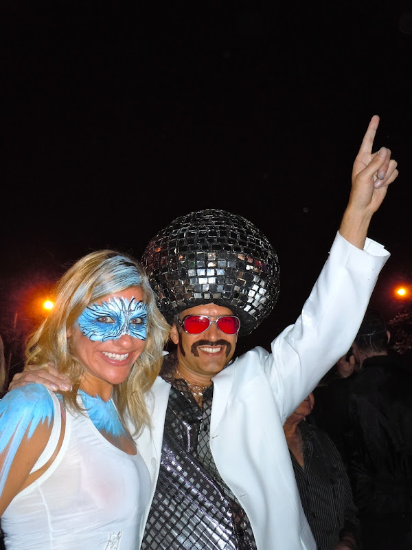 West Hollywood Halloween Carnaval disco costumes