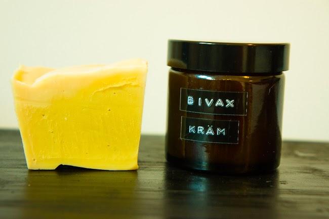 bivaxkräm och tvål