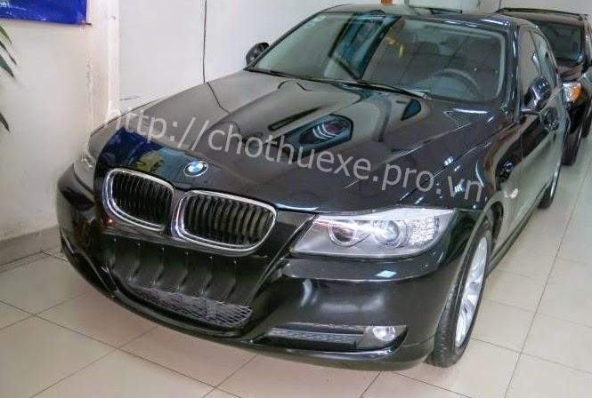 Đức Vinh Trans cho thuê xe cưới BMW 320i - xe hạng sang 2