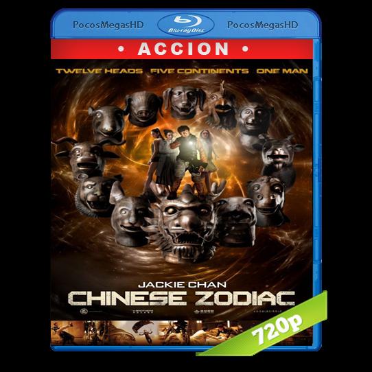 Chinese Zodiac(2012) BrRip 720p Chino AC3+subs