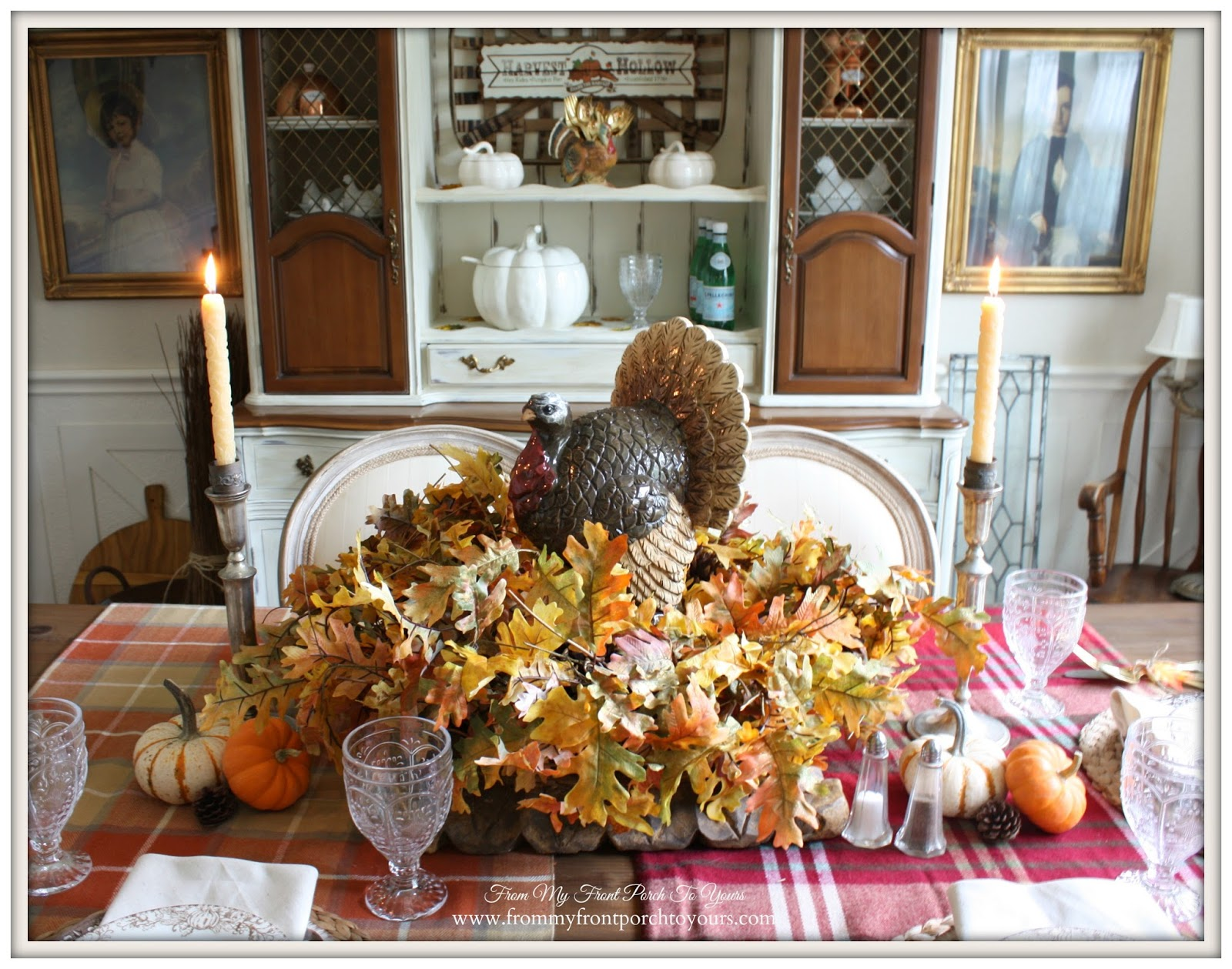 From my front porch to yours thanksgiving dining room