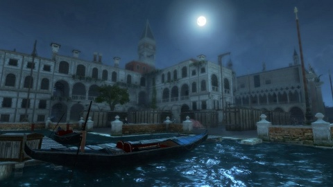 map of venice assassin. The map, Venice by Night,