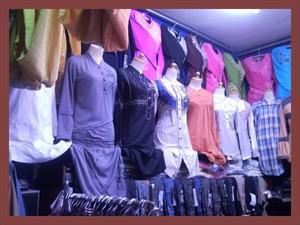 koleksi pakaian tunik wanita