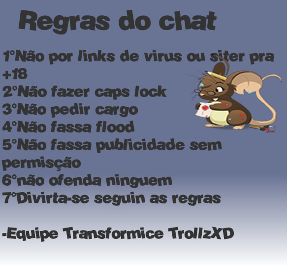 Regras Do Xat