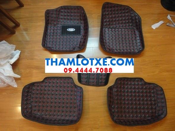 thảm lót sàn xe hơi 3d màu da thamlotxe.com