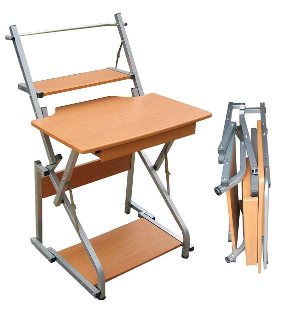 Escritorio plegable para computadora sillas y escritorios for Silla para computadora precio