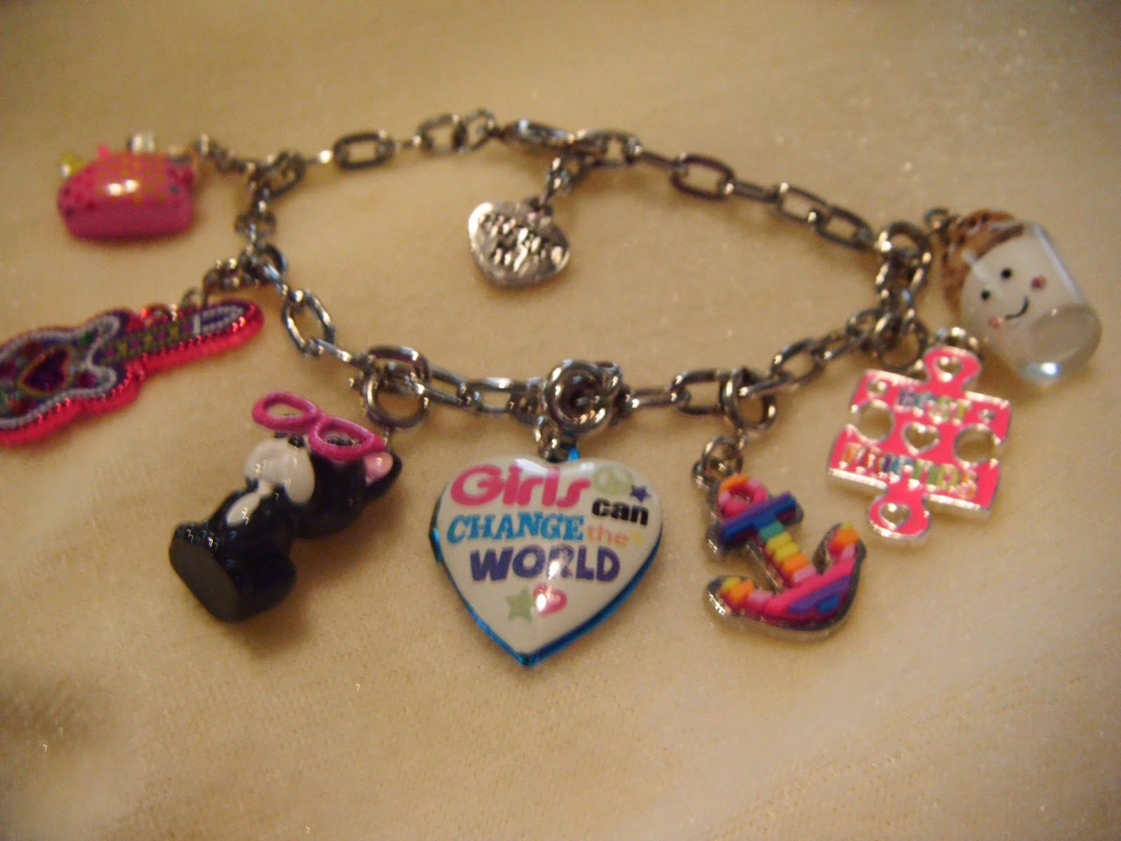 The ABCD Diaries CHARM IT Charm Bracelets Make a Great Stocking