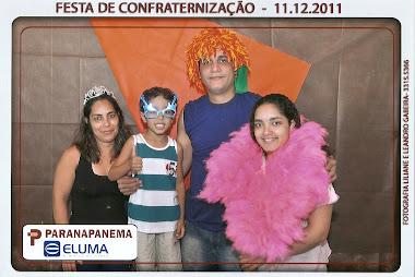 festa de confraternização Eluma 11-12-2011