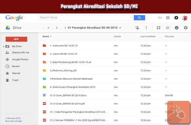 Download Perangkat Akreditasi Sekolah SD/MI