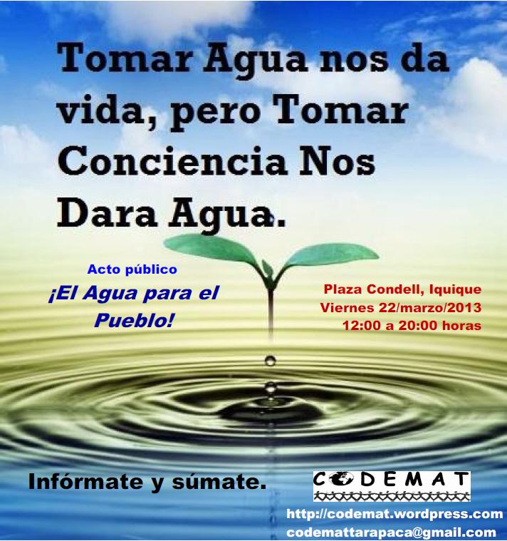 Proyecto Mar del Plata por el agua: marzo 2013