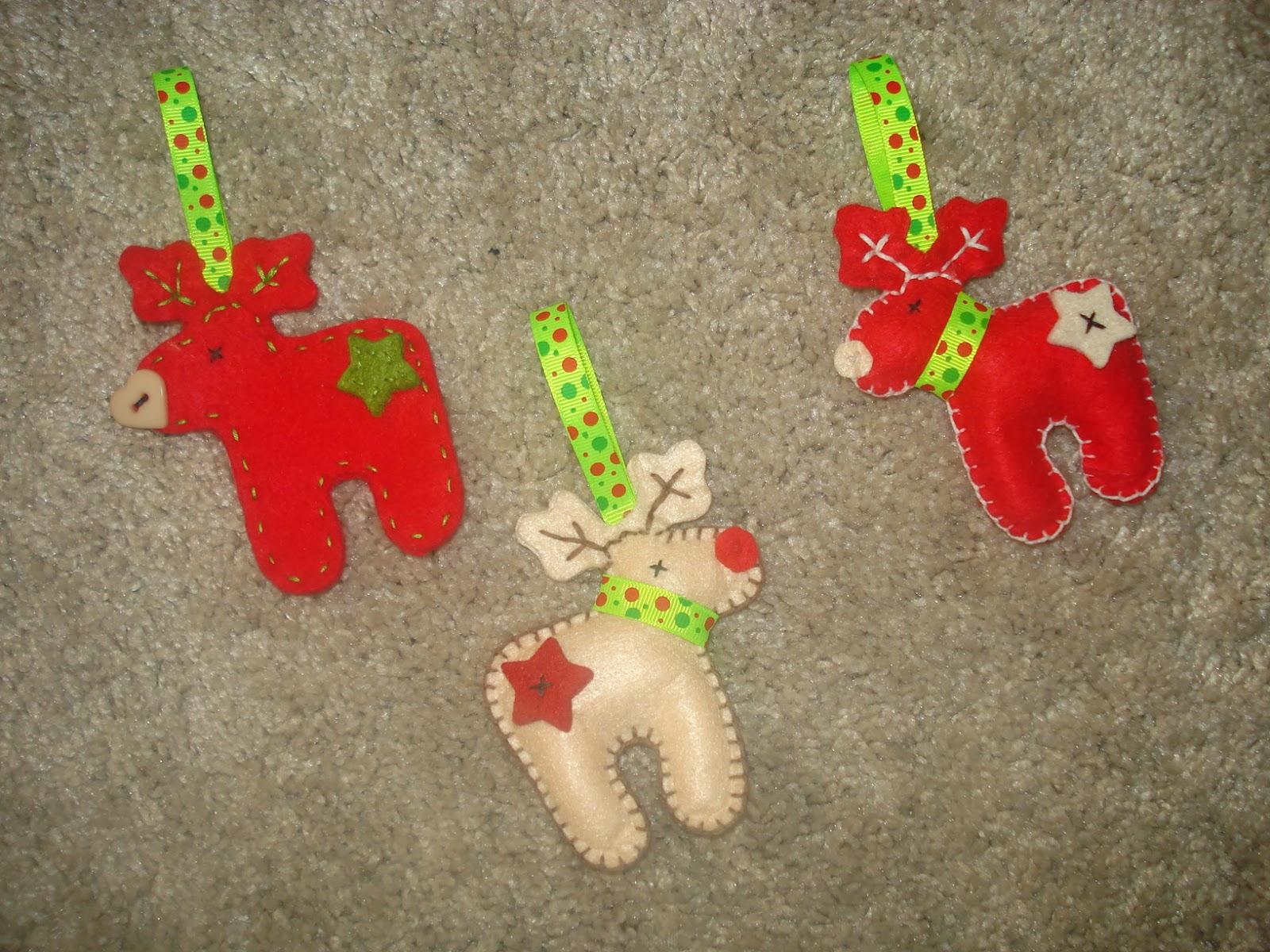 Cpments adornos de navidad con fieltro ii - Adornos con fieltro ...